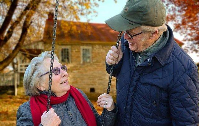 Rüstige Rentner Senioren